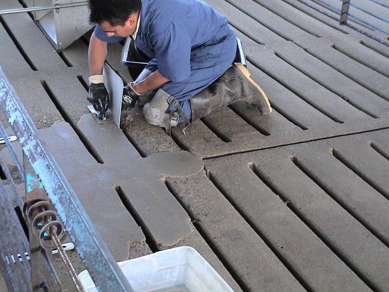 Repairing Slats