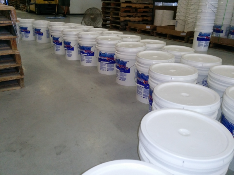 Vanberg Coatings Con-Korite Production