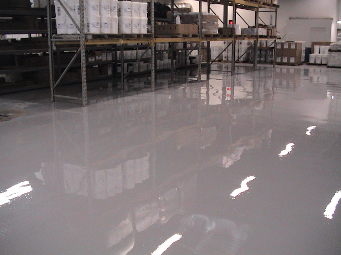 Ultra Gloss used for warehouse floor